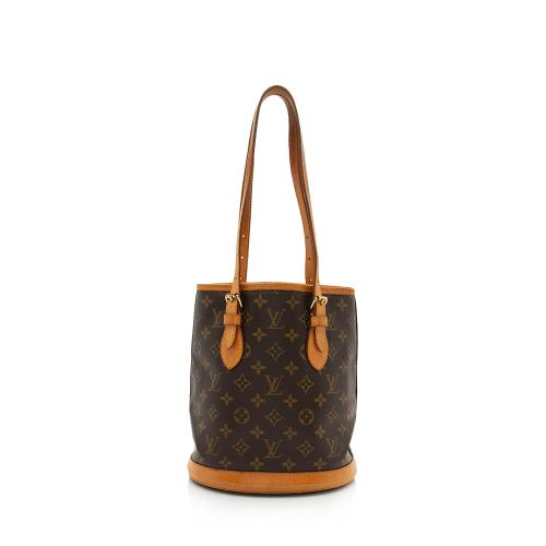 Louis Vuitton Monogram Canvas Petit Bucket Tote