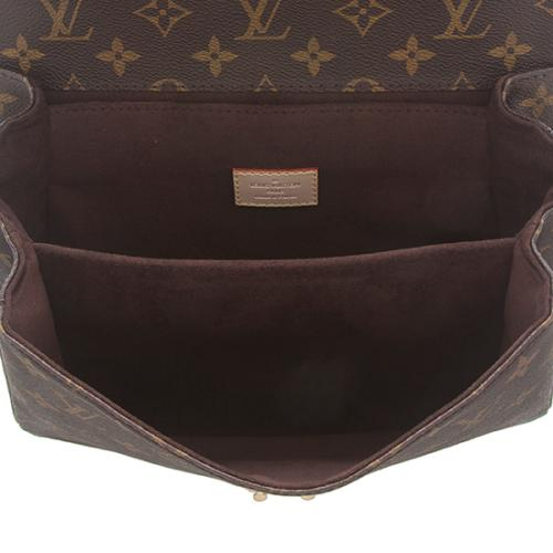 Louis Vuitton Monogram Canvas Pochette Metis Shoulder Bag