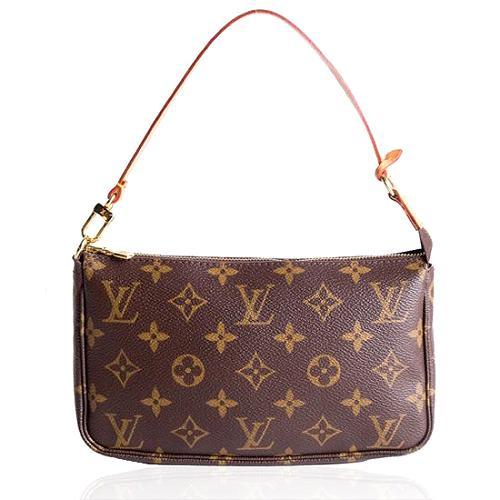 Louis Vuitton Monogram Canvas Pochette Accessoires Handbag