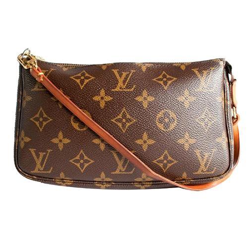 Louis Vuitton Monogram Canvas Pochette Accessoires Shoulder Handbag