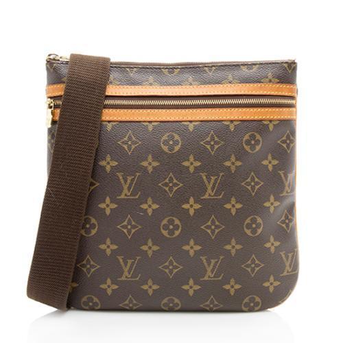 Louis Vuitton Monogram Canvas Pochette Bosphore Messenger Bag