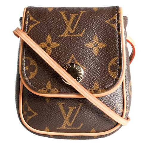 Louis Vuitton Monogram Canvas Pochette Cancun Shoulder Handbag