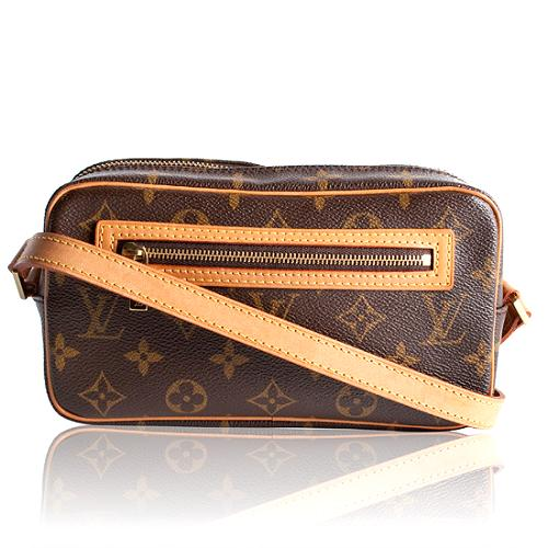 Louis Vuitton Monogram Canvas Pochette Cite Shoulder Handbag
