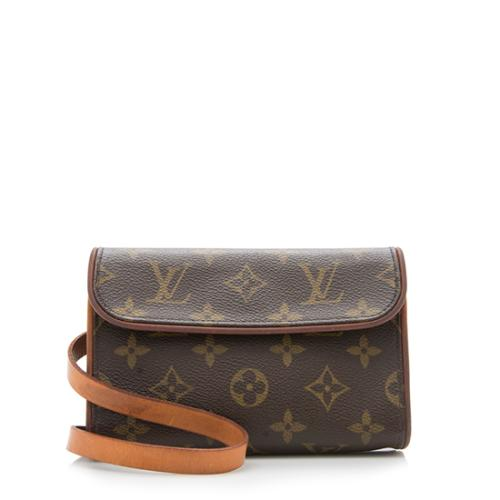 5b9d3a272349 Louis-Vuitton-Monogram-Canvas-Pochette-Florentine-Belt-Bag --FINAL-SALE 93303 front large 0.jpg