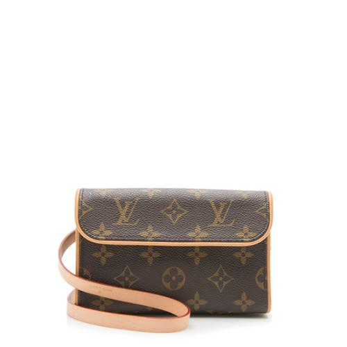Louis Vuitton Monogram Canvas Pochette Florentine Small Belt Bag