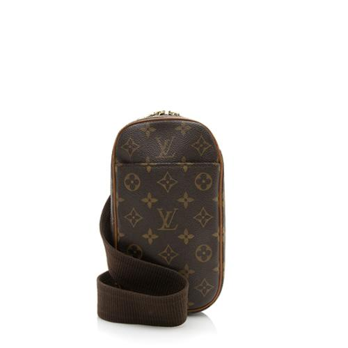 Louis Vuitton Monogram Canvas Pochette Gange Sling Bag