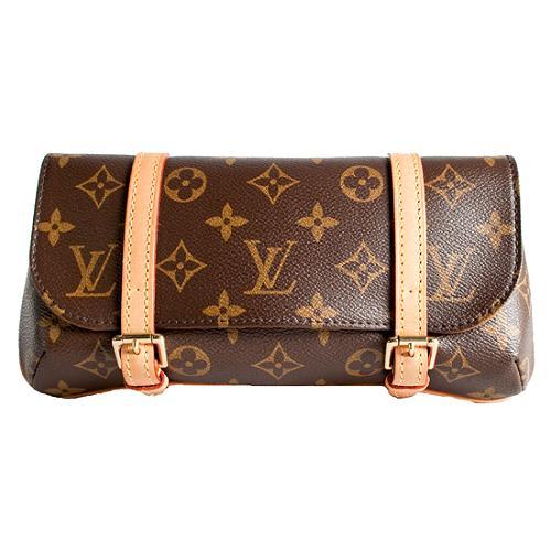 Louis Vuitton Monogram Canvas Pochette Marelle Clutch