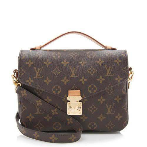 6586cc6716a67 Louis-Vuitton-Monogram-Canvas-Pochette-Metis-Shoulder-Bag --FINAL-SALE 93037 front large 0.jpg