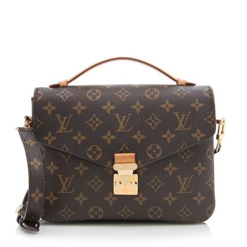Louis Vuitton Monogram Canvas Pochette Metis Shoulder Bag - FINAL SALE