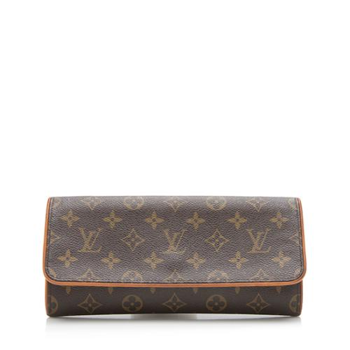Louis Vuitton Monogram Canvas Pochette Twin GM Shoulder Bag - FINAL SALE