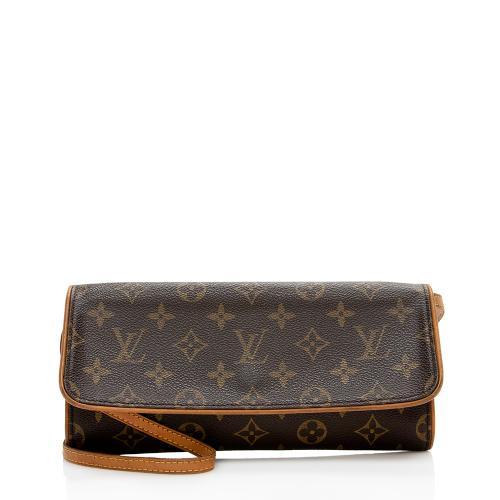 Louis Vuitton Monogram Canvas Pochette Twin GM Shoulder Bag