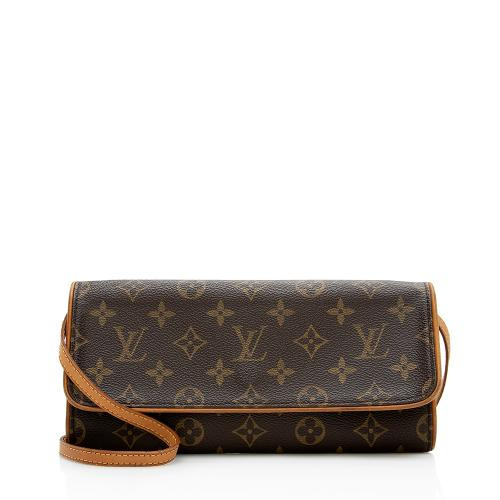 Louis Vuitton Vintage Monogram Canvas Pochette Twin GM Shoulder Bag