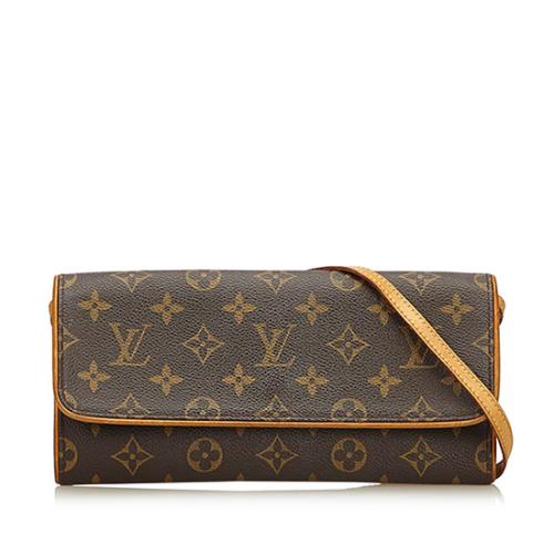 Louis Vuitton Monogram Canvas Pochette Twin GM Shoulder Bag