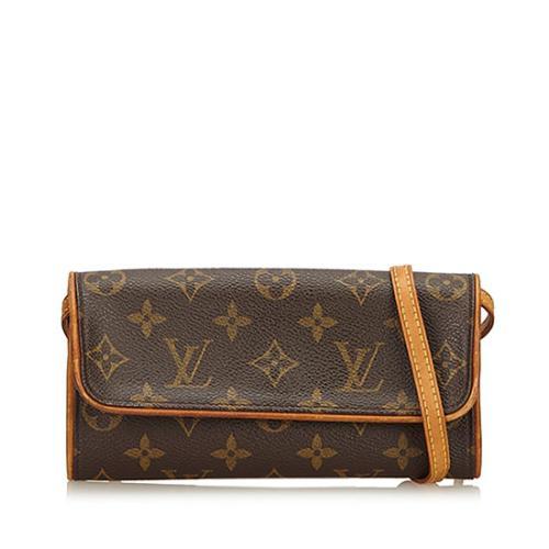 Louis Vuitton Monogram Canvas Pochette Twin PM Shoulder Bag - FINAL SALE