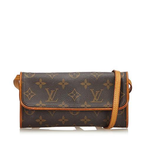 Louis Vuitton Monogram Canvas Pochette Twin PM Shoulder Bag