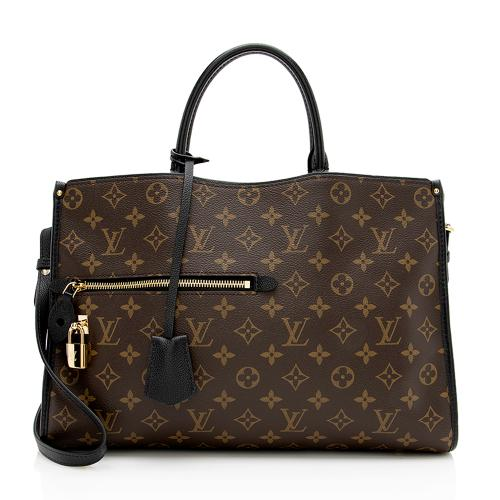 Louis Vuitton Monogram Canvas Popincourt MM Satchel