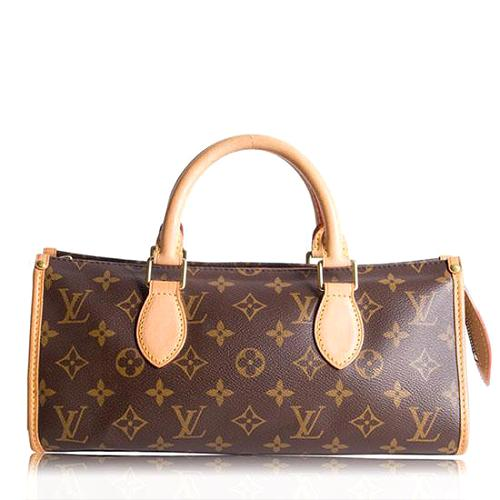 Louis Vuitton Monogram Canvas Popincourt Satchel Handbag