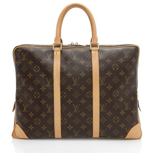 Louis Vuitton Monogram Canvas Porte Documents Voyage Bag