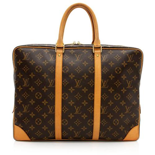 Louis Vuitton Monogram Canvas Porte Documents Voyage Bag