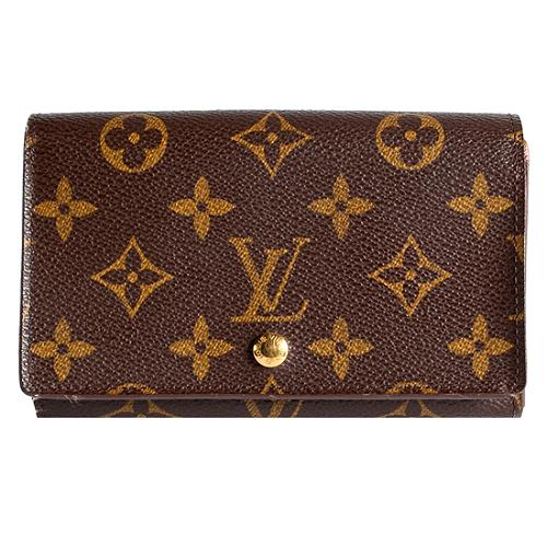 Louis Vuitton Monogram Canvas Porte-Monnaie Billets Tresor Wallet