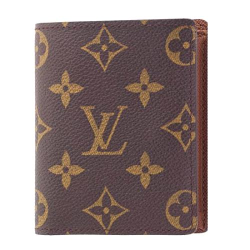 Louis Vuitton Monogram Canvas Porte-Monnaie Billets Wallet