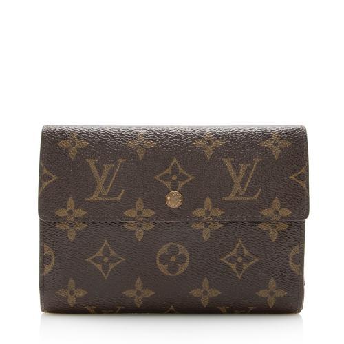 Louis Vuitton Monogram Canvas Porte Tresor Etui Papiers Wallet