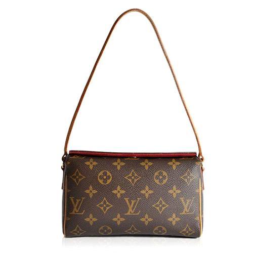 Louis Vuitton Monogram Canvas Recital Shoulder Handbag