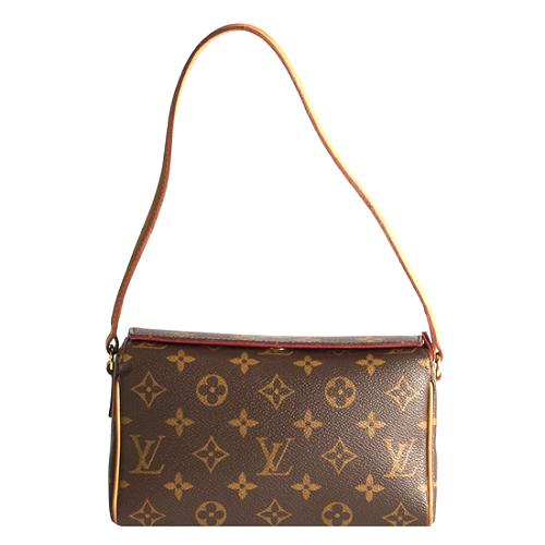 Louis Vuitton Monogram Canvas Recital Shoulder Handbag