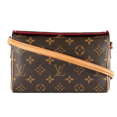 3f29665122de Louis-Vuitton-Monogram-Canvas-Recital -Shoulder-Handbag 48466 front large 1.jpg