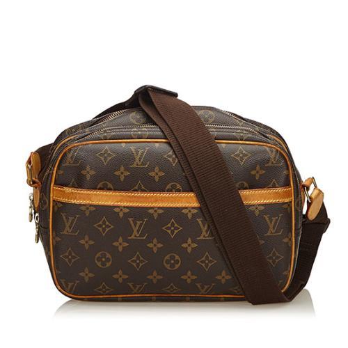 Louis Vuitton Monogram Canvas Reporter PM Messenger Bag