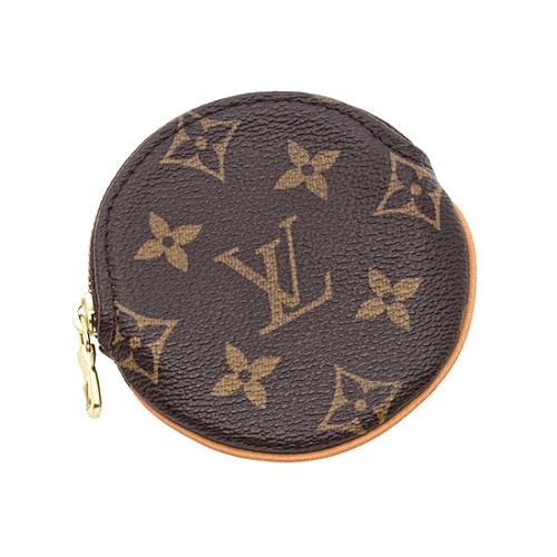 Louis Vuitton Monogram Canvas Round Coin Wallet