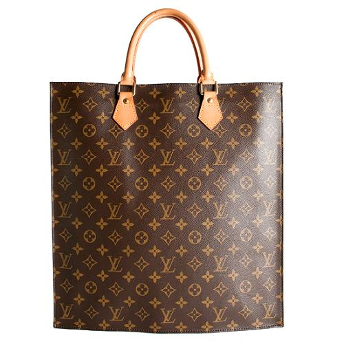 Louis Vuitton Monogram Canvas Sac Plat Tote