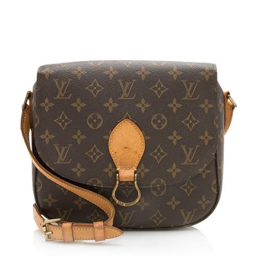 Louis Vuitton Monogram Canvas Saint Cloud GM Shoulder Bag