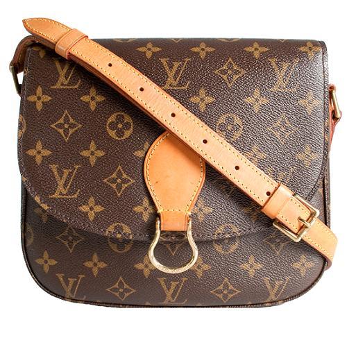 Louis Vuitton Monogram Canvas Saint Cloud Shoulder Handbag