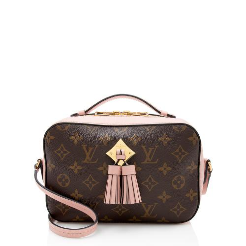 Louis Vuitton Monogram Canvas Saintonge Shoulder Bag