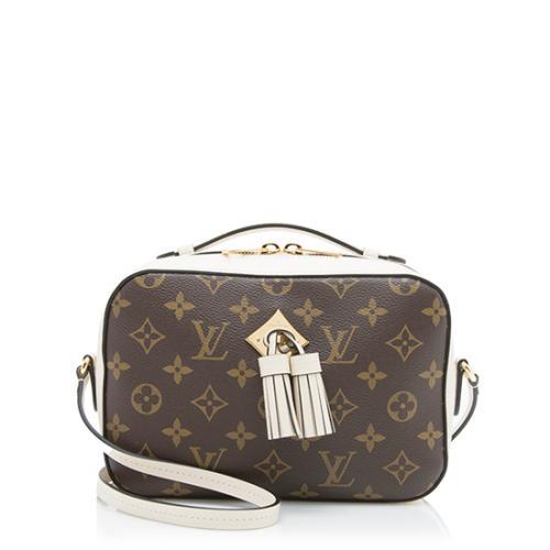 Louis Vuitton Monogram Canvas Saintonge Shoulder Bag