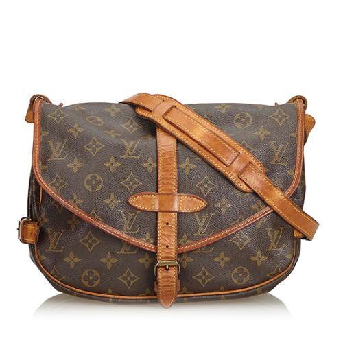 Louis Vuitton Monogram Canvas Saumur 30 Messenger Bag - FINAL SALE