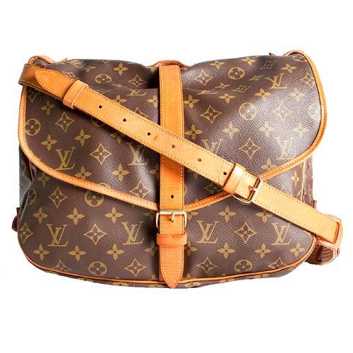 Louis Vuitton Monogram Canvas Saumur GM Messenger Bag