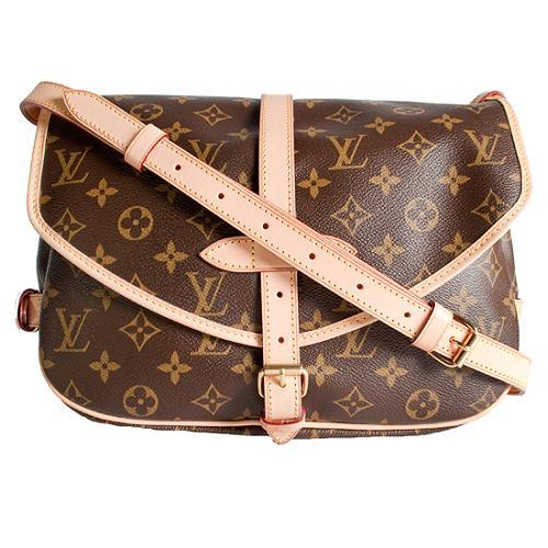 Louis Vuitton Monogram Canvas Saumur MM Messenger Bag
