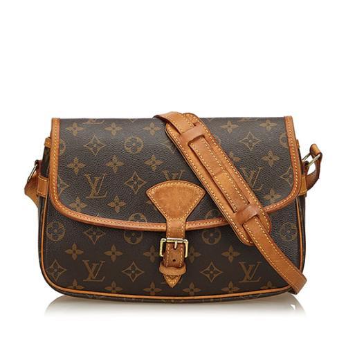 Louis Vuitton Monogram Canvas Sologne Shoulder Bag