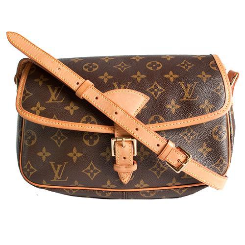 Louis Vuitton Monogram Canvas Sologne Shoulder Handbag
