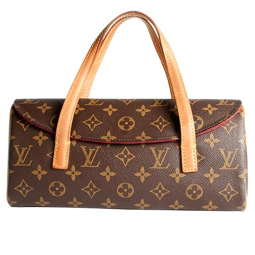 Louis Vuitton Monogram Canvas Sonatine Satchel Handbag