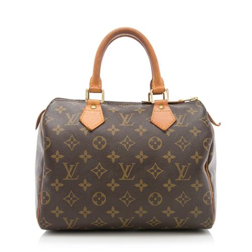 Louis Vuitton Monogram Canvas Speedy 25 Satchel - FINAL SALE