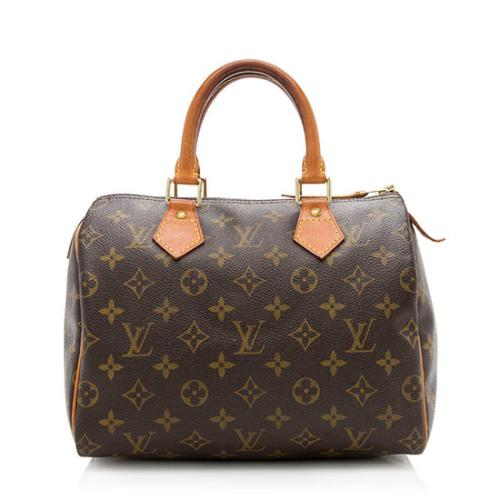Louis Vuitton Monogram Canvas Speedy 25 Satchel