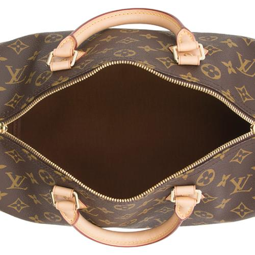 Louis Vuitton Monogram Canvas Speedy Bandouliere 30 Satchel 6a2631d404b81