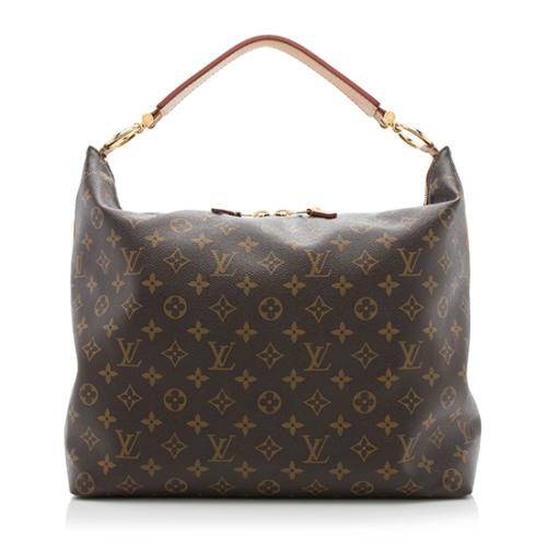 Louis Vuitton Monogram Canvas Sully MM Shoulder Bag