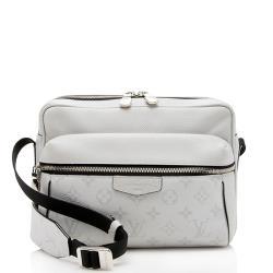 Louis Vuitton Monogram Canvas Taiga Leather Outdoor Messenger Bag