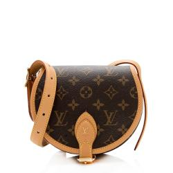 Louis Vuitton Monogram Canvas Tambourin Shoulder Bag