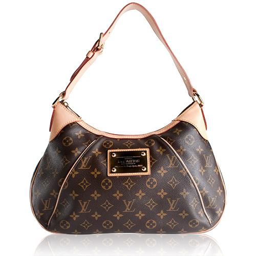 Louis Vuitton Monogram Canvas Thames GM Shoulder Handbag