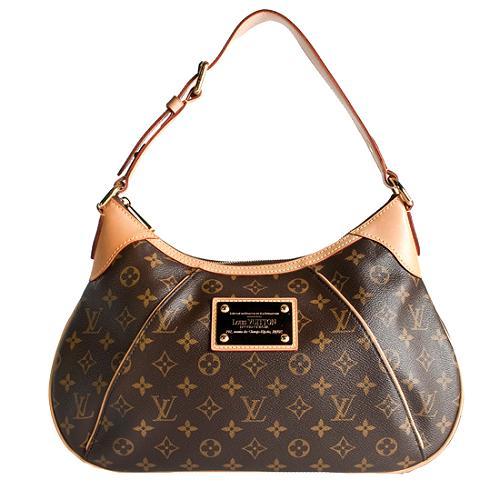Louis Vuitton Monogram Canvas Thames GM Shoulder Handbag